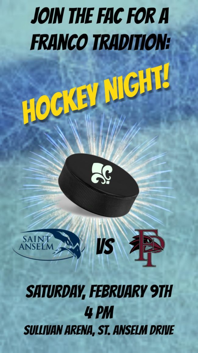 Hockey Night at the FAC!