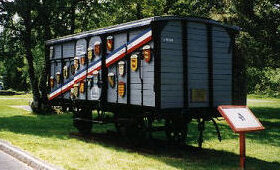 Merci Train Boxcar NH